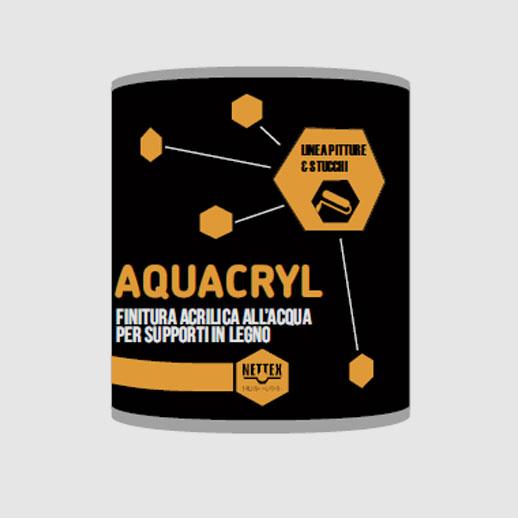 acquacryl | resina acrilica per legno